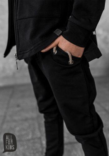 Trenirka hlače z okrasno vrvico